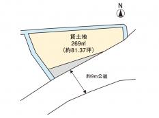 都窪郡早島町矢尾 貸土地 5.0万円