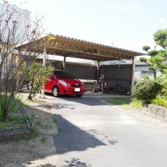 2台駐車可能の車庫