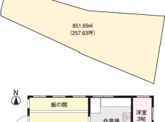 岡山市北区新庄上 売店舗 1600万円